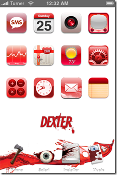 Dexter-iphone-Theme