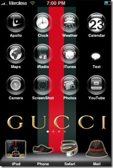 Gucci-iphone-Theme