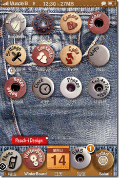 Jeans-iphone-Theme