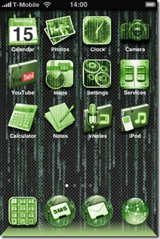 Matrix-iPhone-Theme