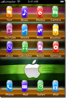Soda-iphone-Theme