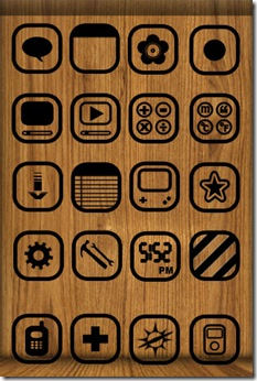 Wood-iphone-Mobile-Theme